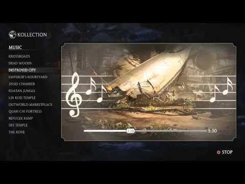 Мортал комбат x саундтрек