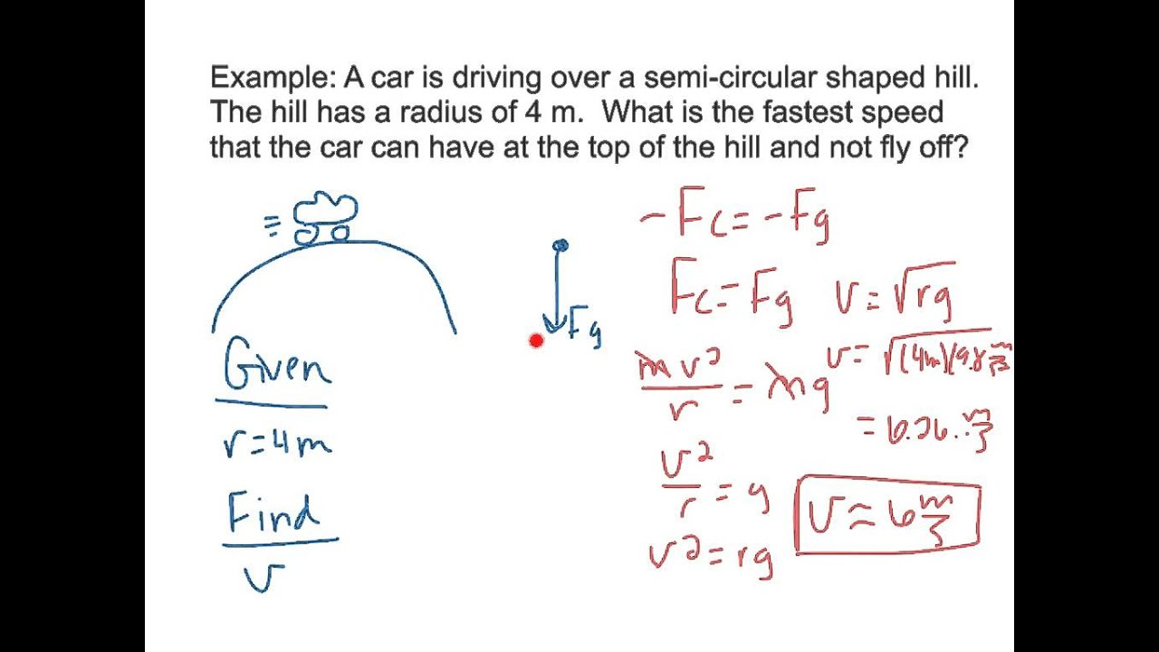 UCM Examples and Practice Problems (3rd and 4th car problems ...