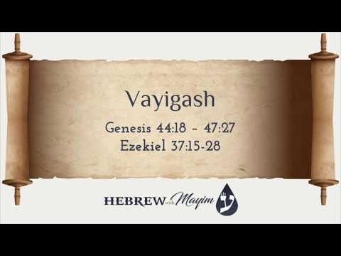 11 Vayigash, Aliyah 7 - Learn Biblical Hebrew