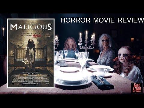 MALICIOUS ( 2018 Bojana Novakovic ) aka THE CURSE Horror Movie Review