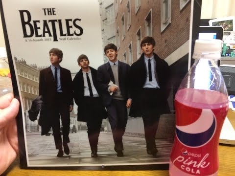 Pink Pepsi, Calendars and a Contest Winner