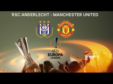 Image result for Manchester United vs RSC Anderlecht