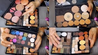 DIY: Make your own Magnetic Makeup Palette with MAC Pro Duo & Old Palettes