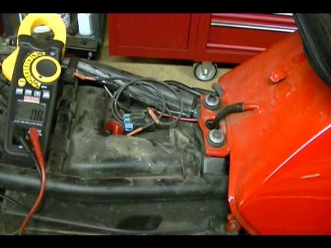 Motorcycle Repair How to check the Regulated Charging Voltage on a