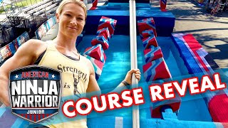 SEASON 2 NINJA COURSE REVEAL | American Ninja Warrior Junior | Universal Kids