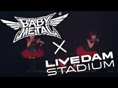 BABYMETAL「4の歌」 LIVE DAM STADUIM コンテンツCM