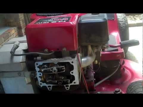 Briggs And Stratton 15 5 Ohv Running Rough Then Dies