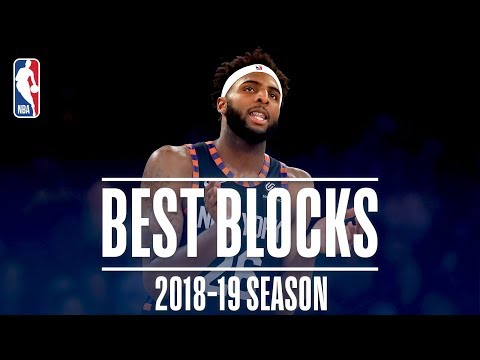 Mitchell Robinson's Best Blocks   2018-19 Season   #NBABlockWeek