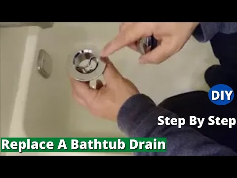 how-to-replace-a-bathtub-drain---remove-and-install-new-drain---step-by-step