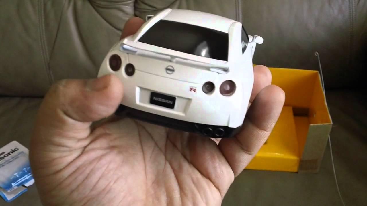 Rascas Nissan Gtr 1 24 Scale Radio Controlled Car 27mhz Hd Youtube