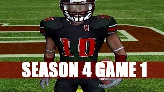NCAA FOOTBALL 06 PRIME U DYNASTY VS GRAMBLING STATE (S4G1)