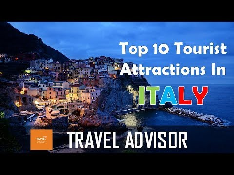 ITALY  Top 10 tourist attractions that you MUST SEE  HD  YouTube