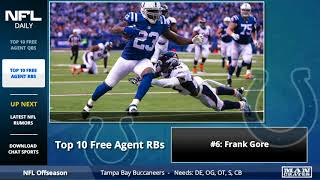 Top 10 NFL Free Agent Running Backs In 2018