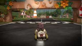 LittleBigPlanet Karting Story Walkthrough - Part 1 HD [No Commentary]