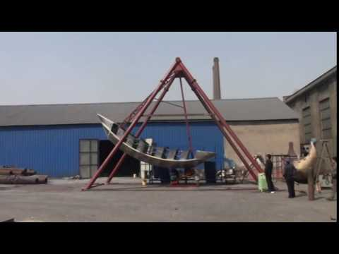 Amusement Machine Pirate Ship Export To Turkmenistan