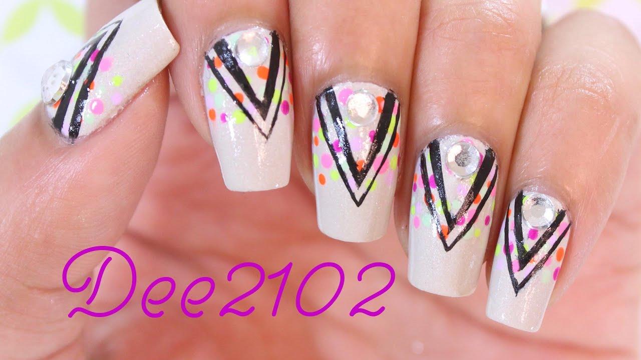 Jennifer Lopez Back It Up Nails | Dee2102 - YouTube