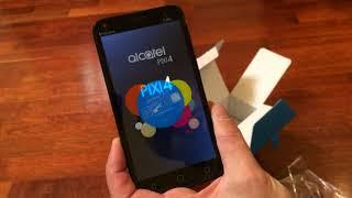 Обзор смартфона Alcatel Pixi 4 (5) 5010D Volcano Black