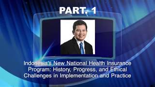 PART. 1 - Newest Development of Universal Health Coverage in Indonesia at Harvard Medical School thumbnail