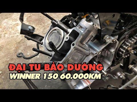 Đại tu bảo dưỡng cụm động cơ xe Honda Winner 150 sau 60.000km   BeePro