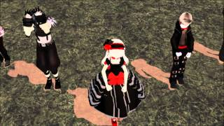 mmd creepypasta bad apple ally contest video feat slender man laughing jack collin farrior kate