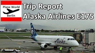 Trip Report | Alaska Airlines Embraer 175 | Economy | SJC - SAN
