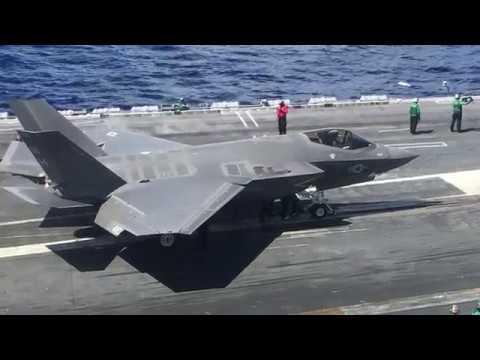 F-35C First Integrated