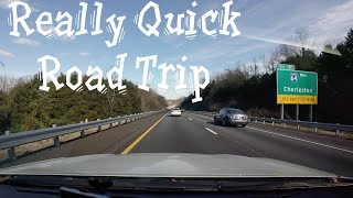 elevaTOURS Really Quick Road Trip: Roanoke VA to Shady Grove MD via Dulles Airport (Time Lapse)