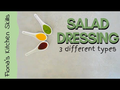 how-to-make-3-different-salad-dressings-|-fiona's-food-for-life