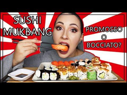 sushi-mukbang-eating-show-ita-#52---provo-per-la-prima-volta-il-sushi-del-supermercato!