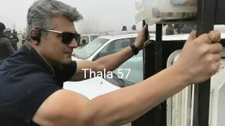 Thala57 unofficial photo teaser with fan made theme music