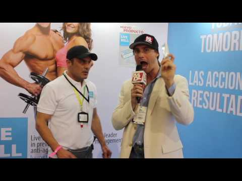 Live Well Pharmacy en el Expofitness Colombia 2017