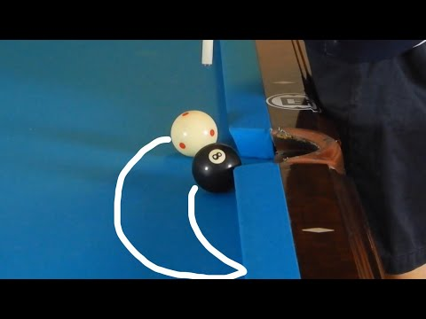 Masse Curve Shots That You Must Know! | How To Curve A Pool Ball