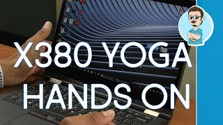 Lenovo ThinkPad X380 YOGA Review   Hands On   Versatile 2-in-1 Laptop!
