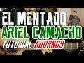 El Mentado - Ariel Camacho - Tutorial - ADORNOS - Guitarra - con Omar Sierra