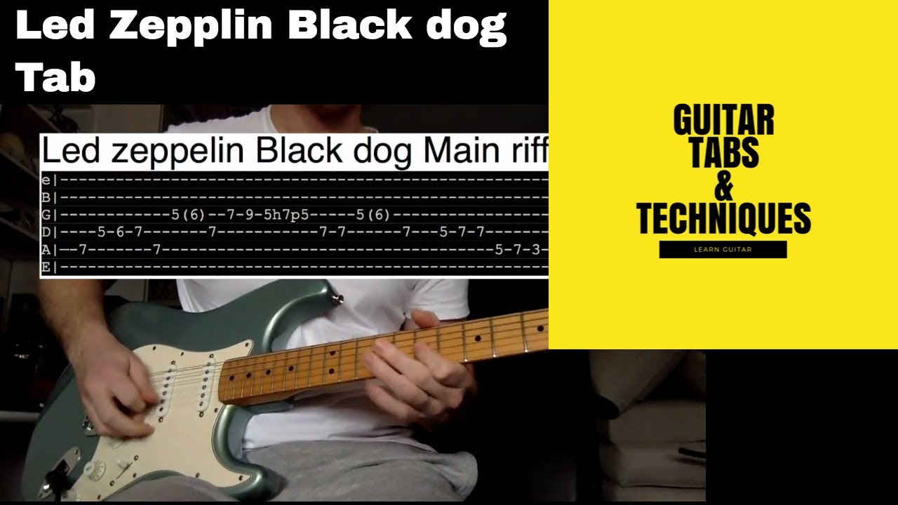 Black dog tabs songsterr