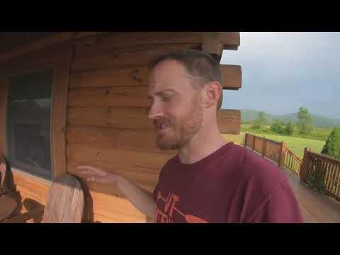 Tour The BEST Cabin Rental Near Blackwater Falls, West Virginia!   Golden Anchor Cabins