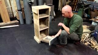 Bookshelf With Secret Compartment