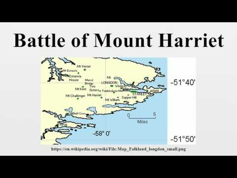 Battle of Mount Harriet