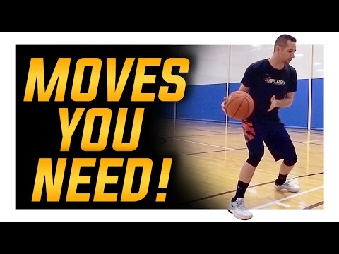 The 4 Basketball Moves You Need! Basketball Moves for Beginners