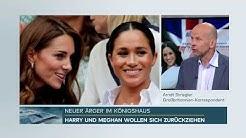 #MEGXIT - Harry & Meghan sorgen für Aufregung im Königshaus