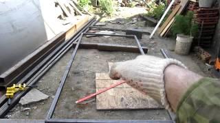 Сварка металлических ворот,часть2(Процесс сварки каркаса створок металлических ворот.Все этапы изготовления и монтажа распашных ворот ..., 2014-05-24T20:39:52.000Z)