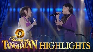 Tawag ng Tanghalan: Jamie Rivera and Marielle Montellano perform on the TNT stage
