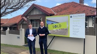 POST AUCTION UPDATE WITH MATTHEW & JACKSON | 3 FRANCES AVE, STRATHFIELD SOUTH