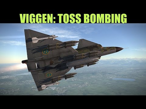 AJS37 Viggen: Toss Bombing Tutorial | DCS WORLD