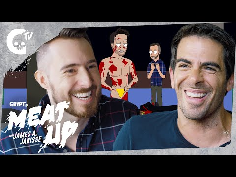 Meat Up with Dead Meat James A. Janisse ft. Eli Roth & Llama Arts!  Creator   Crypt TV