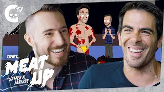 MEAT UP with Dead Meat James A. Janisse ft. Eli Roth & Llama Arts! | Crypt Culture | Crypt TV