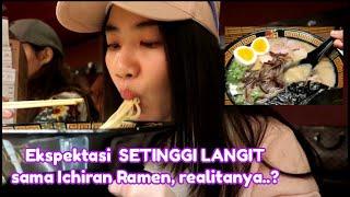 """TERMANDATORI Jepang, makan Ichiran Ramen (-_-"""")"""