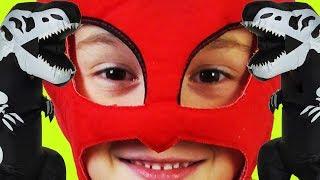 Герои в масках против Пиратов! Приключения Давида PJ Маски |  Игрушки стали героями