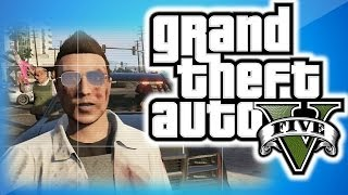 """GTA 5 Online Multiplayer Funny Moments 5 - KYR SP33DY and The Crew, """"What is Love"""", Cop Glitch!"""