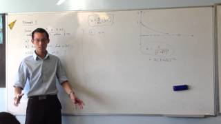 Functions of Displacement: Harder Example (3 of 3 - Establishing Domain for v)